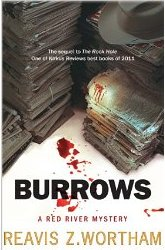 Cover of Burrows by Reavis Wortham