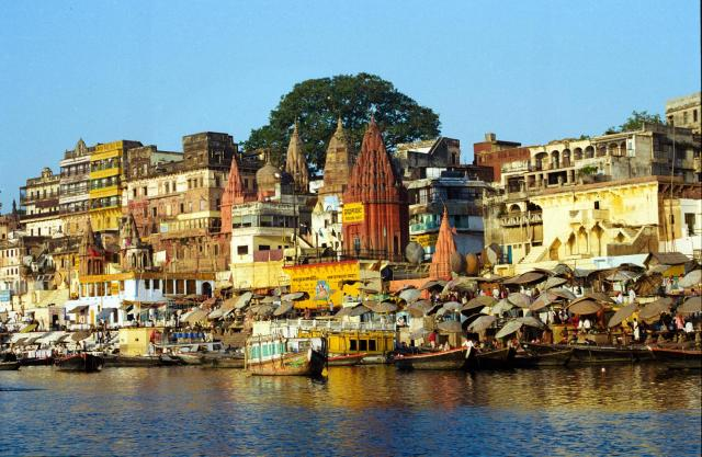 The River Ganges, Varanasi, Uttar Pradesh, India