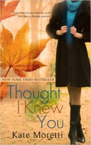 Thought I Knew You is currently #11 in the Paid Kindle store on sale for $.99 (as of today, August 17, but not for long)