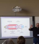 John Gilstrap teaching Bangs & Booms 101