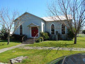 Fentress United Methodist Church. © Kathy Waller