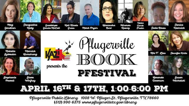 Pflugerville Book Pfestival April 16 and 17