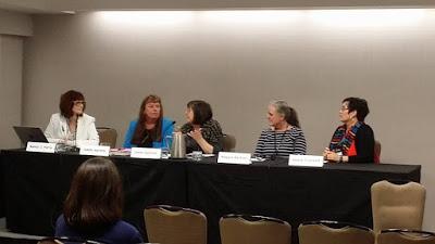 Kaye's panel at Malice Domestic