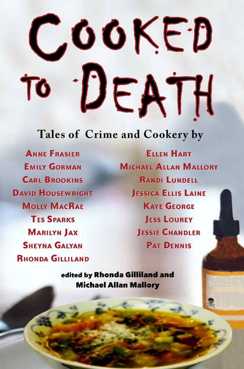 Kaye George Talks About Cooked To Death: Tales of Crime andCookery